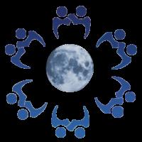 pares-dos-trabalhos-de-equipe-povos-junto-com-o-logotipo-do-globo-da-sombra-13239260198